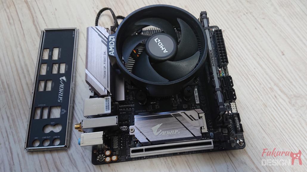 Mainboard mit Original AMD Kühler